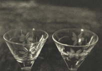 Two Aperitif Glasses